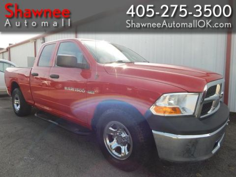 Pre-Owned 2011 DODGE RAM 1500 QUAD CAB Rear Wheel Drive PK