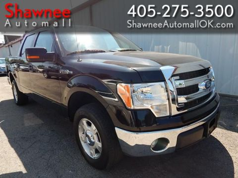 Pre-Owned 2014 FORD F150 SUPERCREW XLT Rear Wheel Drive PK