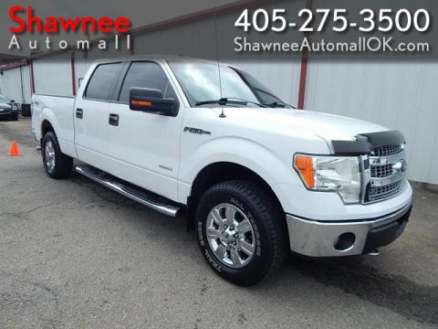 Pre-Owned 2013 FORD F150 SUPERCREW 4X4 XLT Four Wheel Drive PK