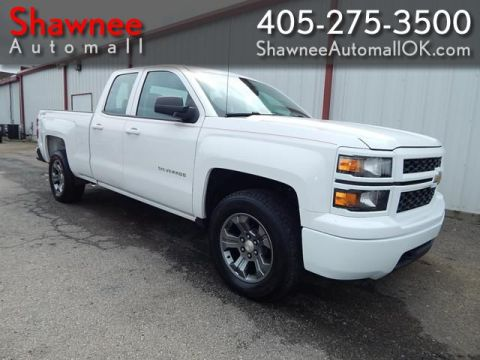 Pre-Owned 2015 CHEVROLET SILVERADO 1500 4WD DBL  Four Wheel Drive PK