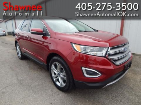 Pre-Owned 2017 FORD EDGE TITANIUM  Front Wheel Drive UT